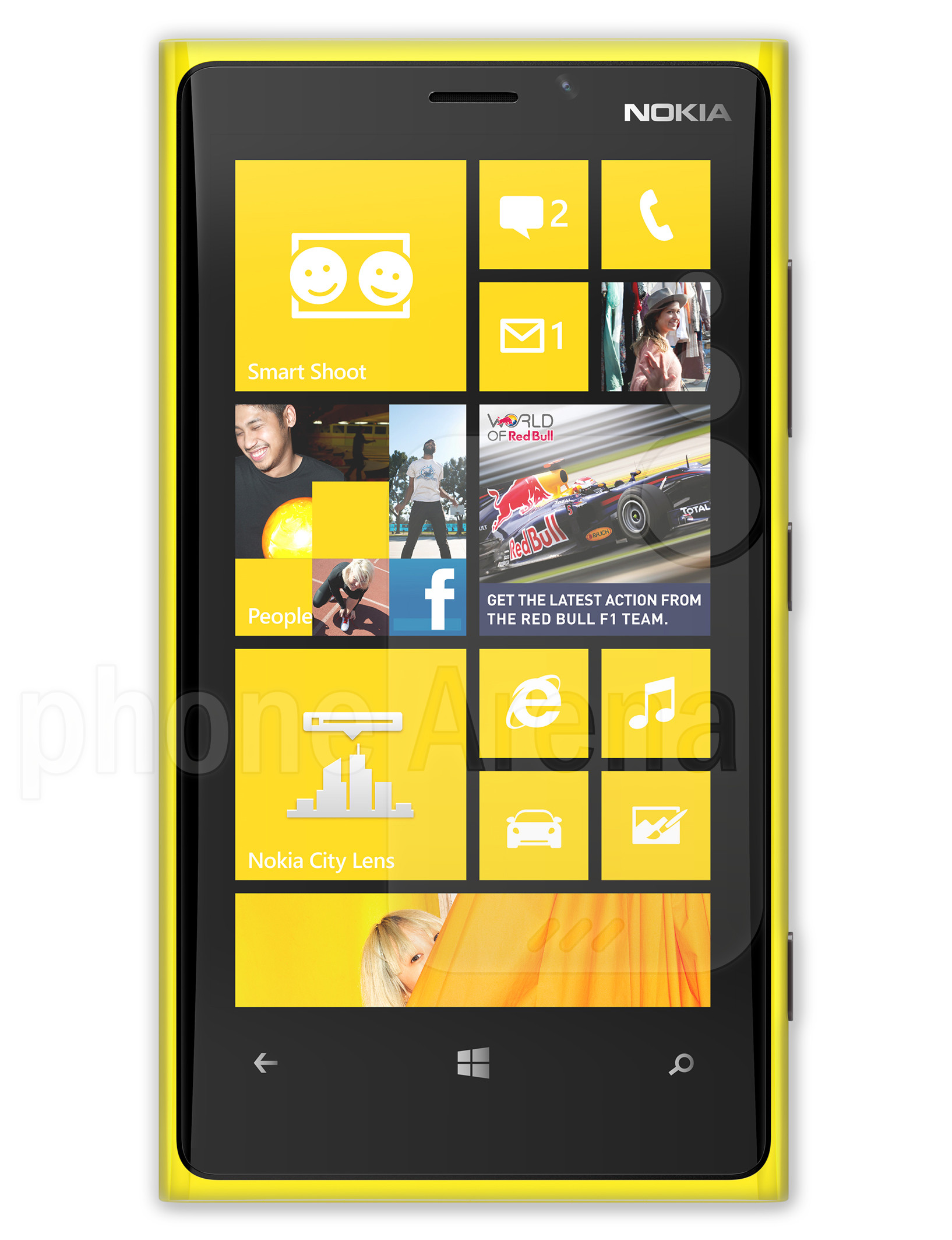 Nokia Lumia 920 ve 800 hard reset