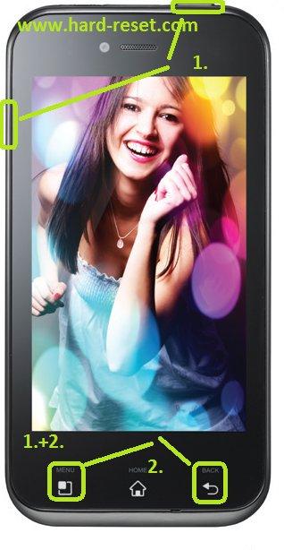 LG Optimus E730 hard reset