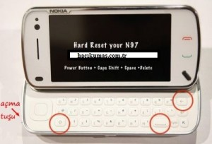 N97 ve N97 MİNİ Hard Reset