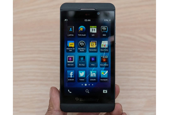 Blackberry Z10 Manuel MMS Ayarları