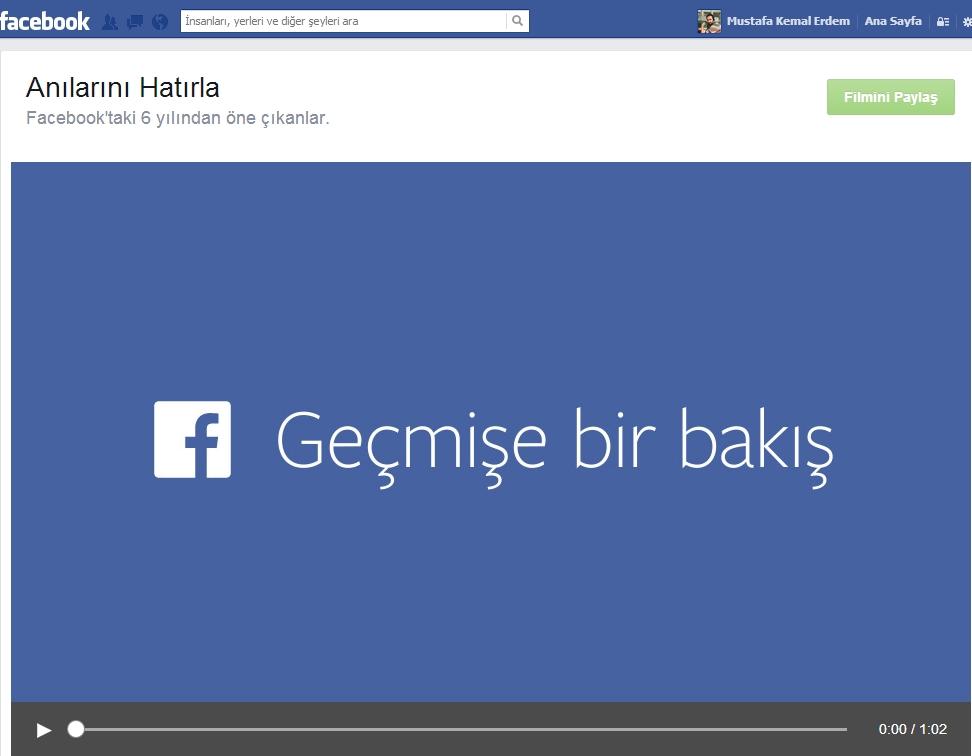 Facebook Lookback Nedir