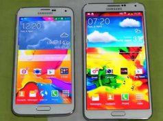 Galaxy S5 ve Note 3