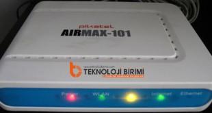 pikatel airmax 101 modem kurulumu