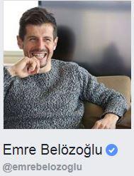 emre belözoğlu resmi facebook sayfası
