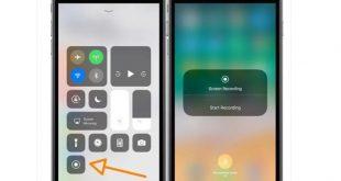 iPhone ekran kaydı nasıl yapılır